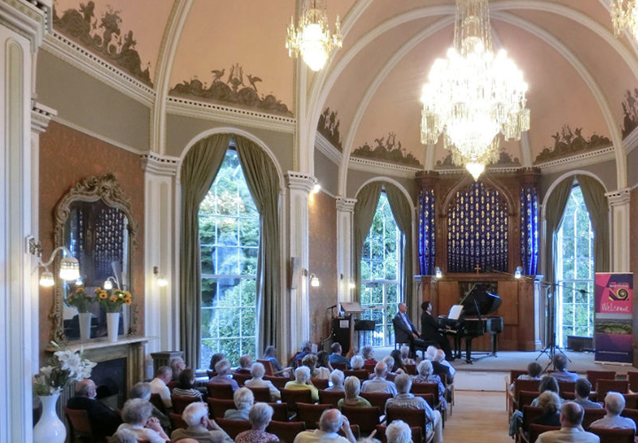 Marc Verter's recital of Scenes from the Mediterranean East Devon Music Festival
